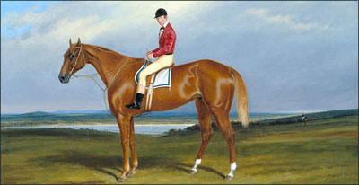 Is it luck or is it a science? Betting the odds - Hamilton's horse racing history then and now by Jim Burant.  Image: Cornelius Krieghoff. Fraser with Mr. Miller Up, 1854. Accession No: 14609. National Gallery of Canada.