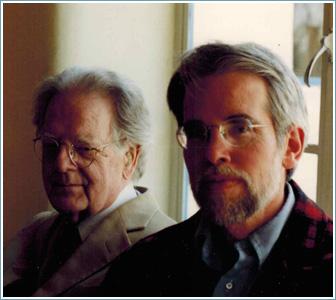 Northrop Frye and Thomas Willard, Arizona, 1990.
