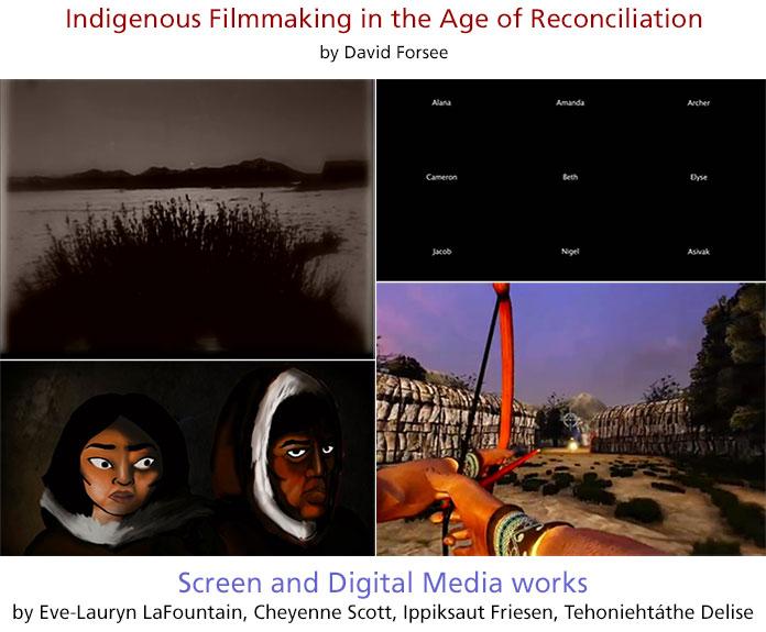 Next Generation Screen Media. Film Stills: by Eve-Lauryn LaFontain, Cheyenne Scott, Ippiksaut Friesen, and Tehoniehtáthe Delise.