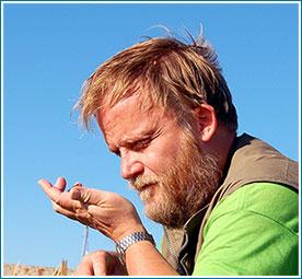 Lars Thomas, author, zoologist and cryptozoologist