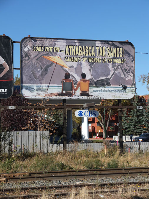 David LaRiviere, Come Visit the Athabasca Tar Sands
