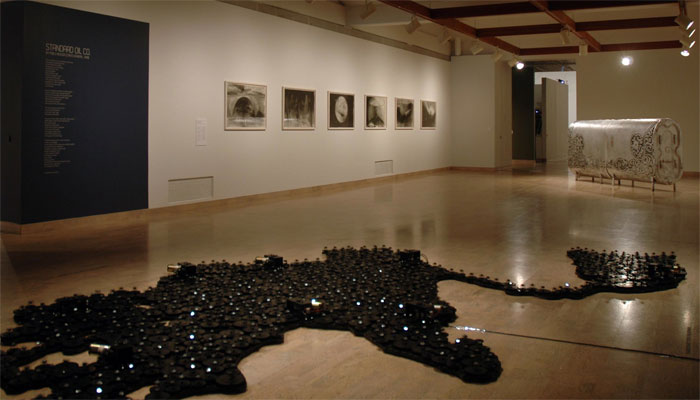 Robyn Moody, Power 2: Hope Lake as seen through the eyes of Manley Natland / Installation View: Mendel Art Gallery, 2012