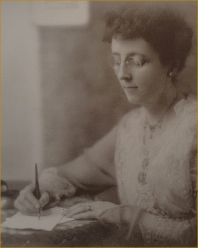 A Broken Alpine Path: Notes from a Woman Poet in New Brunswick by Jennifer Houle • Photograph of Lucy Maud Montgomery.