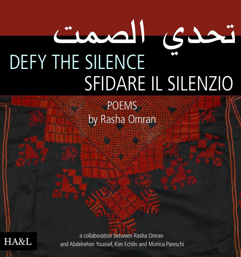 LOOK INSIDE: Defy the Silence • Poems by Rasha Omran.