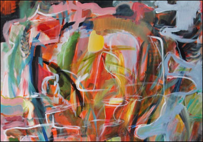 The Pain Closet: by John Barton. Artwork detail: Tara Joy Knibbe.