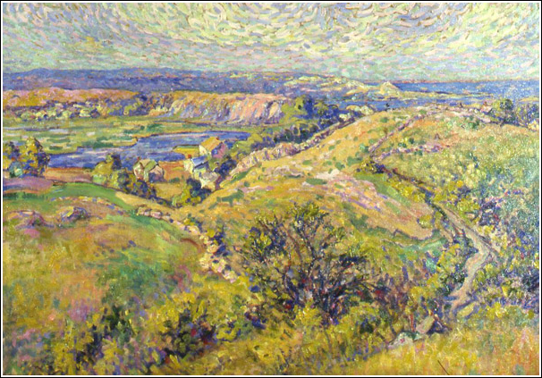 Dogtown Common, oil on canvas, no date. Courtesy, the Art Gallery of Hamilton, used with permission.