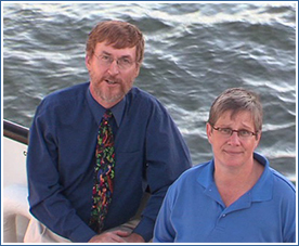 Ken Cruikshank and Nancy Bouchier