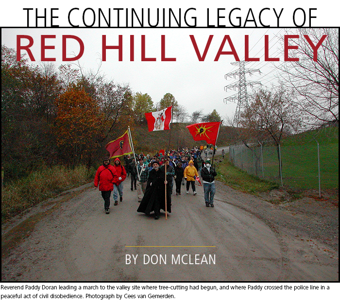The Continuing Legacy of Red Hill Valley • by Don McLean. Photograph by Cees van Gemerden.