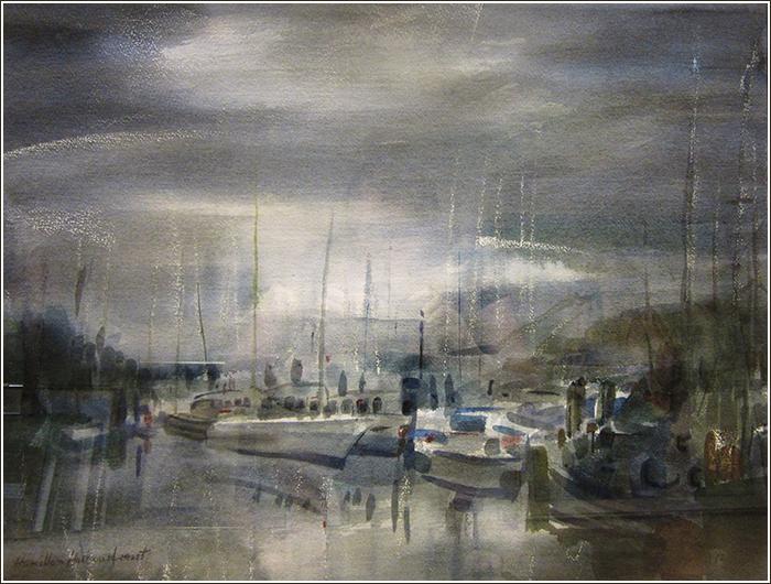 Paintings by Tibor Nyilasi