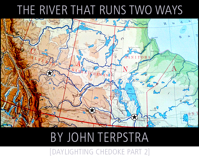 The River That Runs Two Ways • by John Terpstra