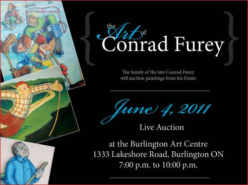 The Art of Conrad Furey - Estate Auction