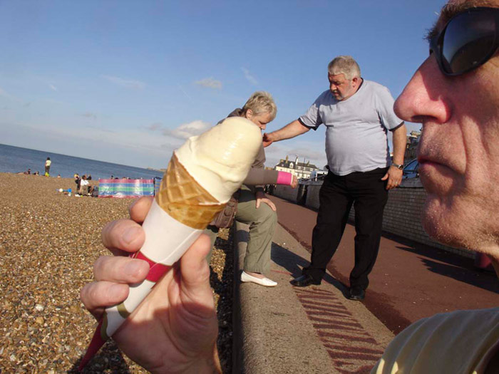 Peter Karuna - Cone, Herne Bay, UK, 2008
