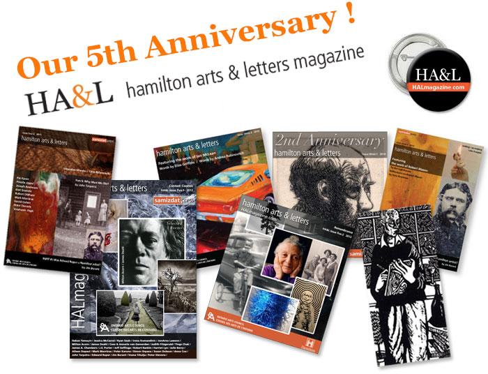 Hamilton Arts & Letters magazine 5th Anniversary issue